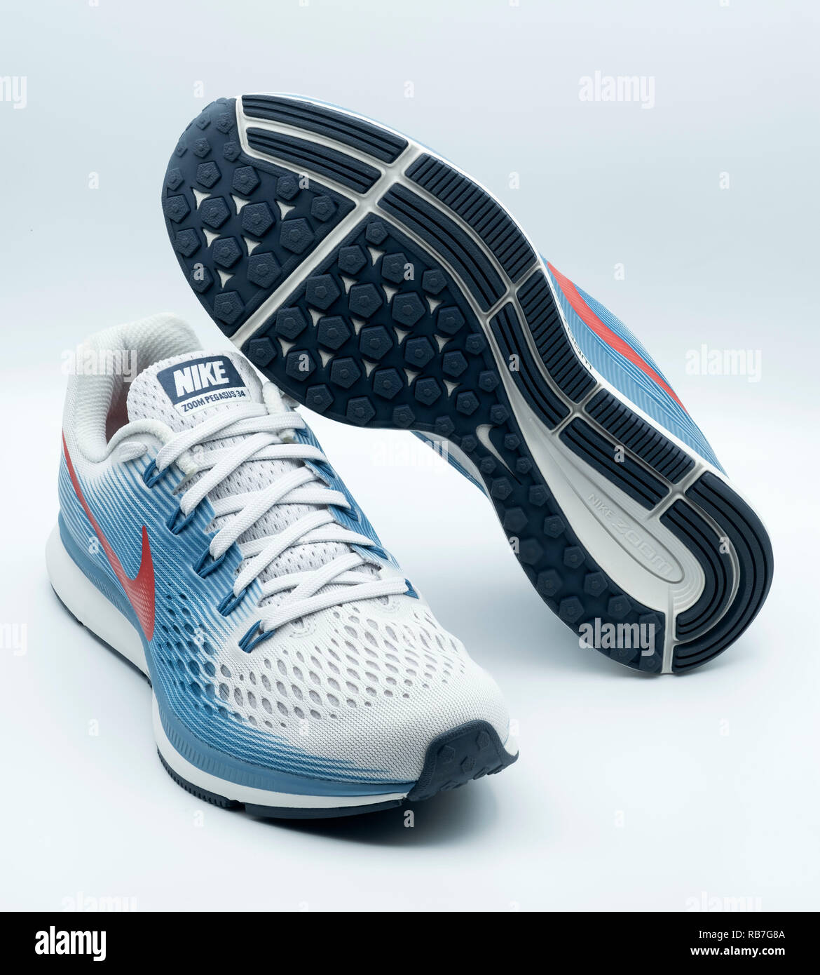 check out 174a1 850cd Nike Sneakers Stock Photos & Nike Sneakers Stock Images - Alamy