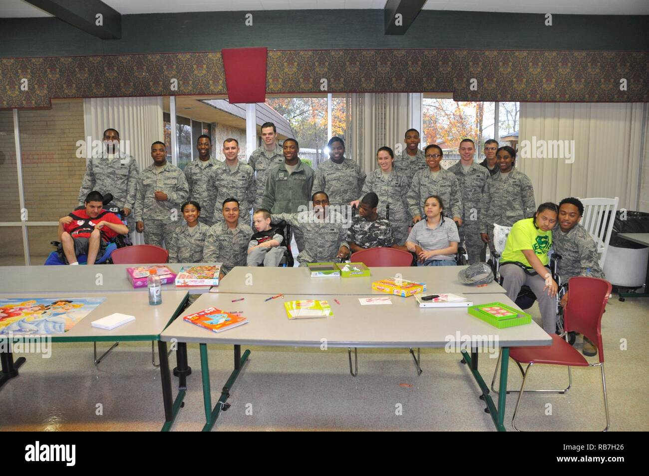 Sixteen Airmen from the 908th Airlift Wing's Airmen