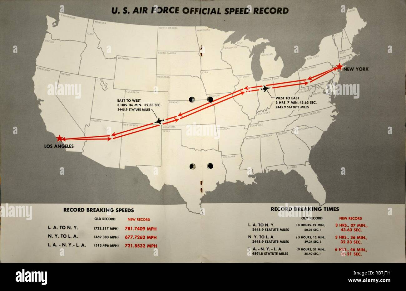 A map of the path flown by Operation Sun Run pilots on Nov ...