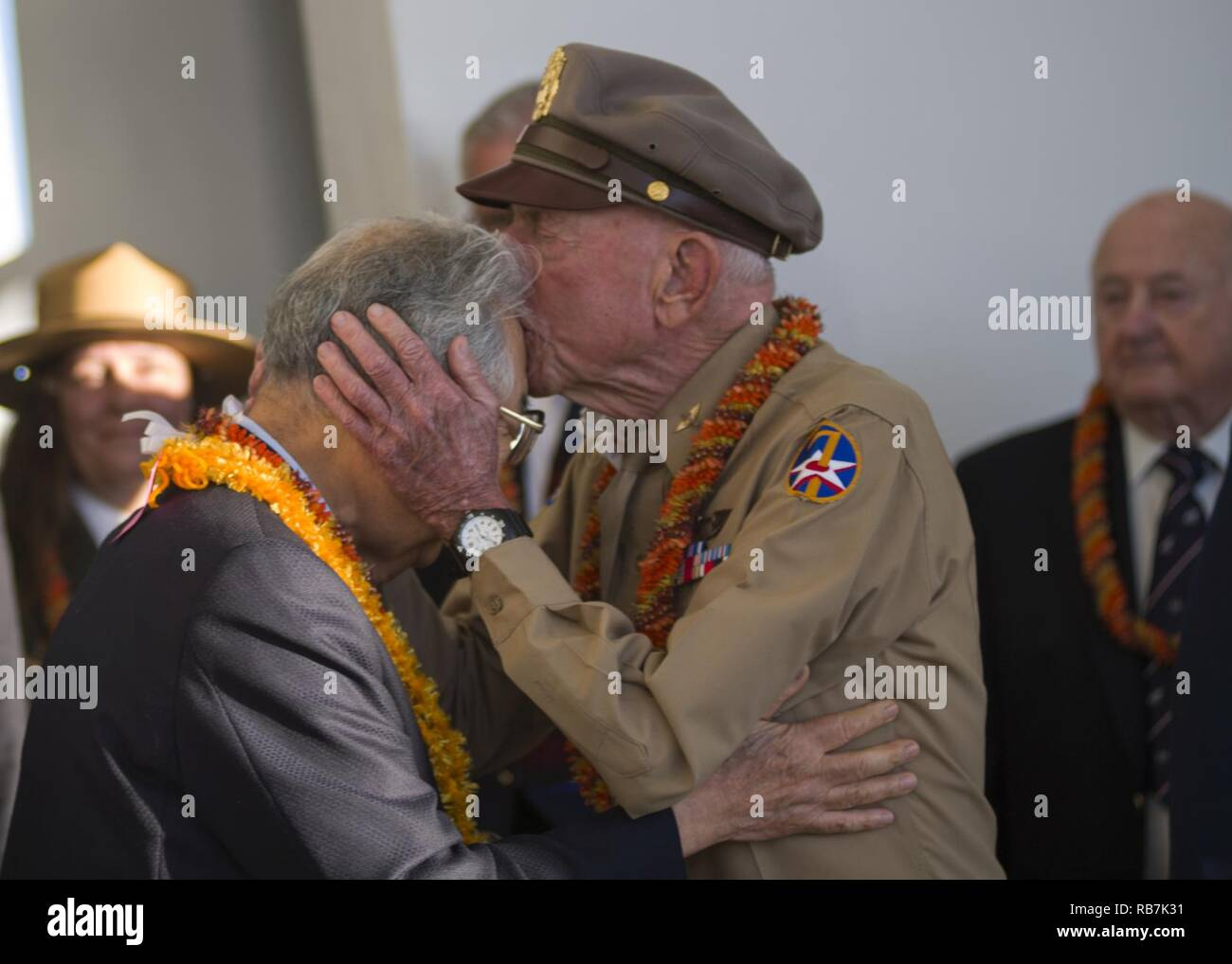 PEARL HARBOR (Dec  6, 2016) Jerry Yellin, former captain and WWII