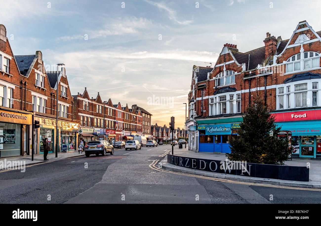 Central Furzedown South London UK - Stock Image