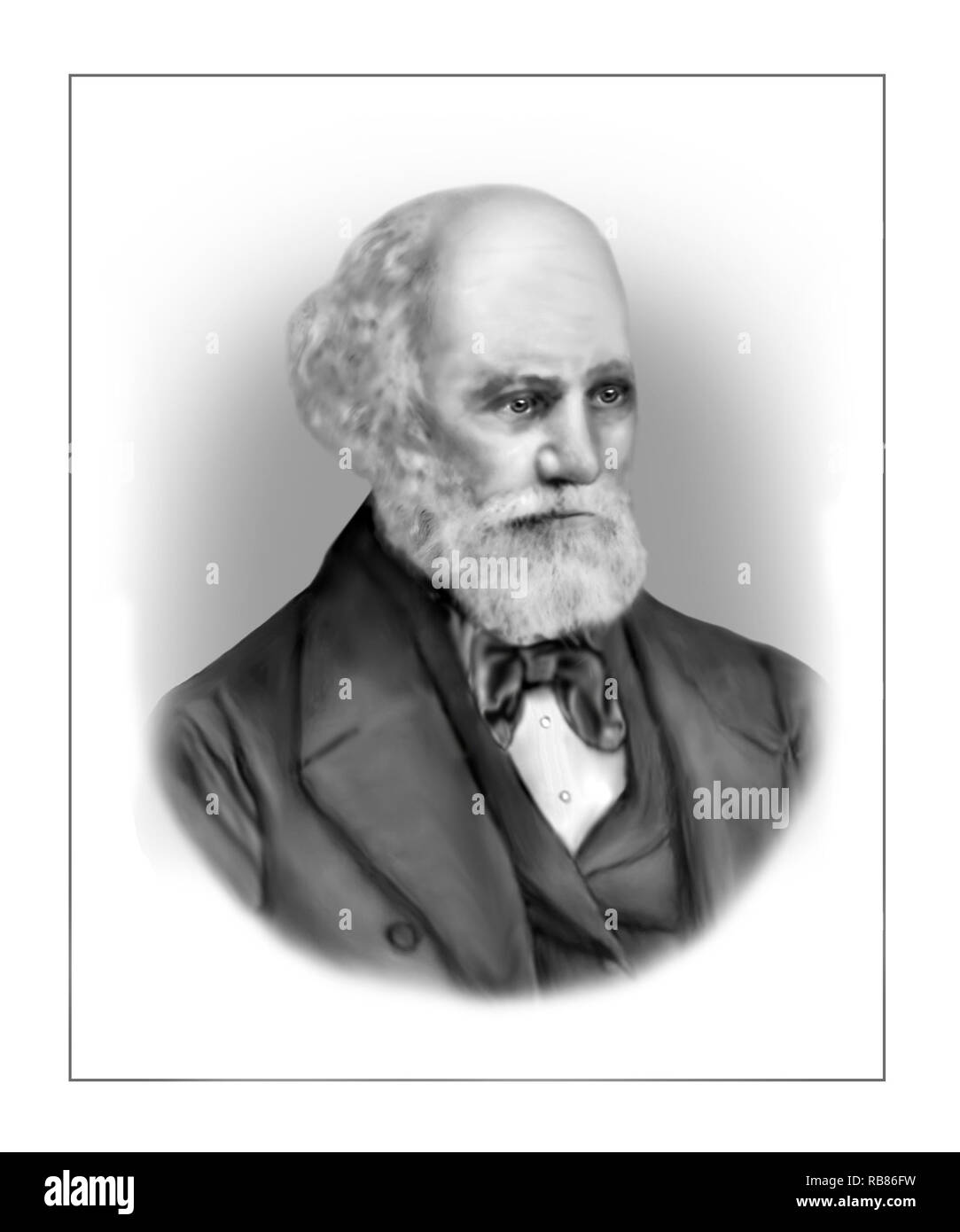 Jules Janssen 1824-1907 French Astronomer - Stock Image
