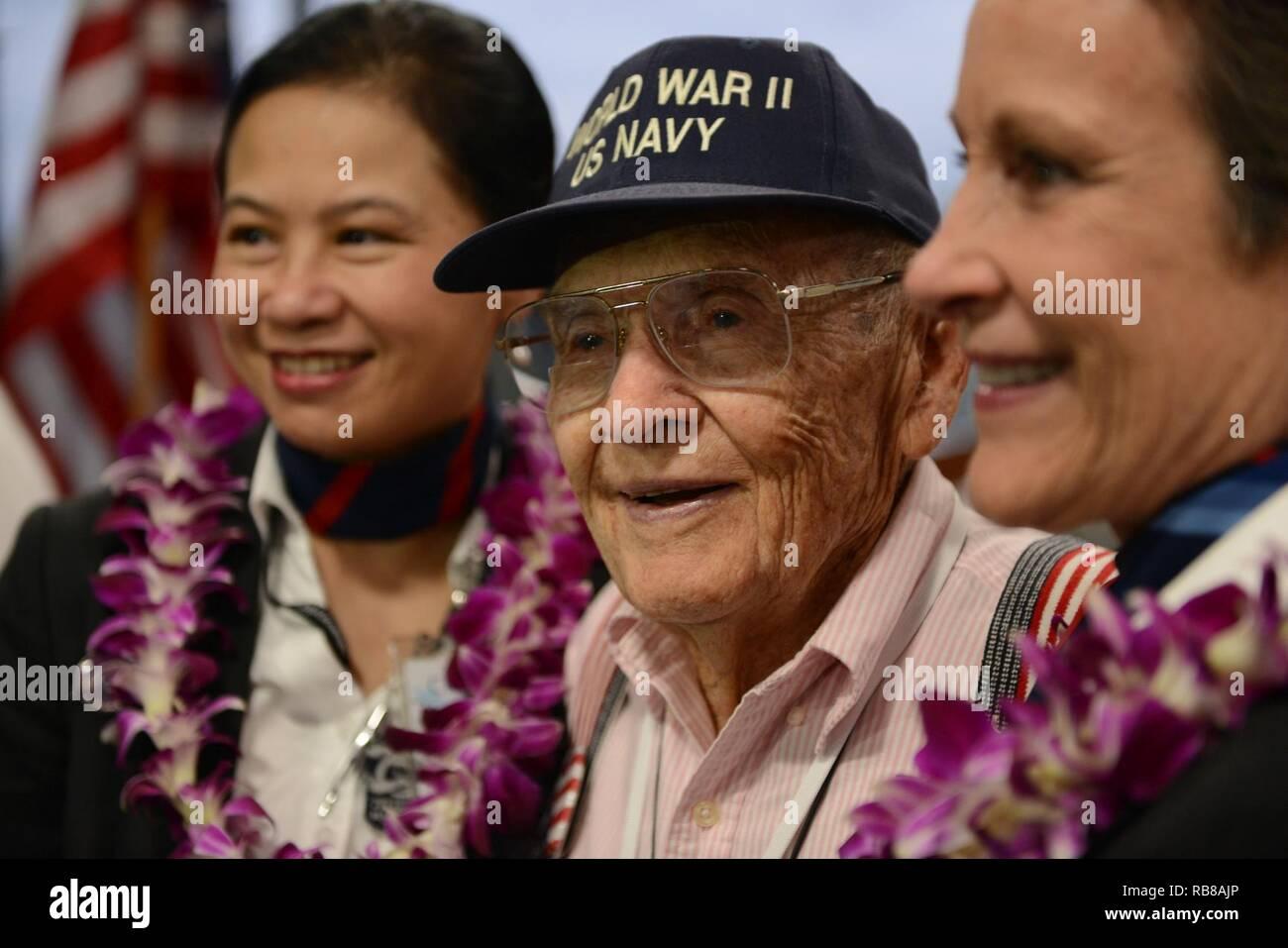 former navy petty officer 2nd class burke waldron a world war ii