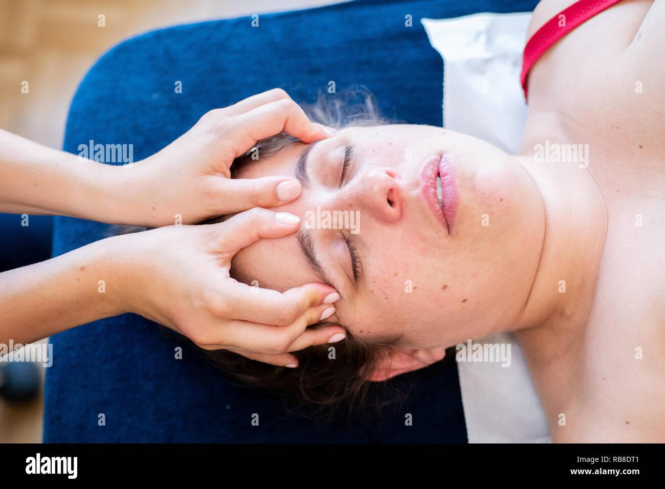 Osteopath - Stock Image