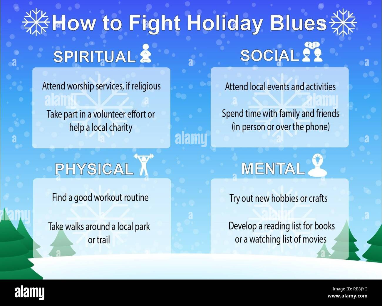 Holiday Or Seasonal Depression Can Be Helped By Utilizing The Four