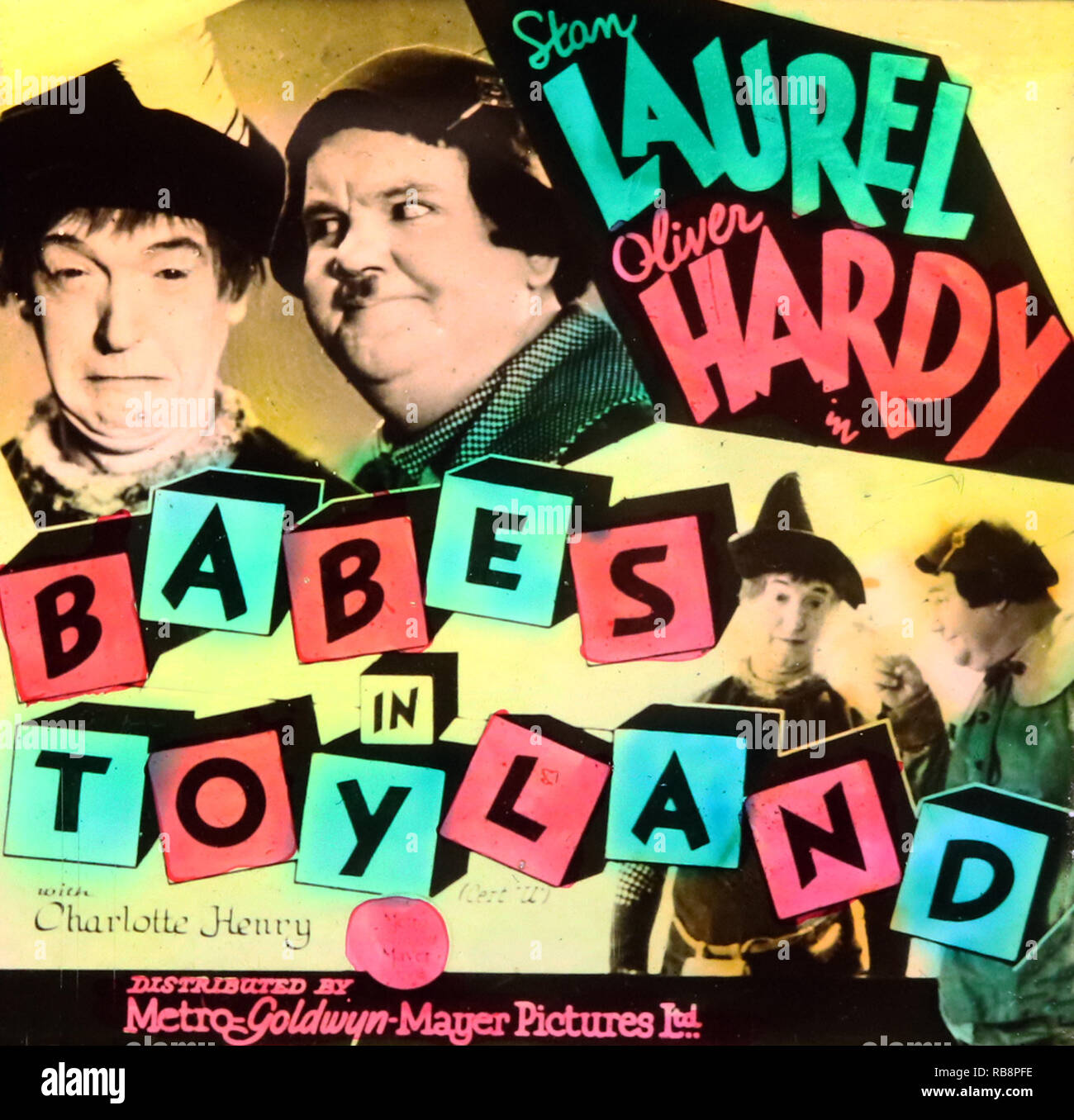 Laurel  Hardy 1 Comedy Classic Poster Be Happy Cinema Actors Film Black White