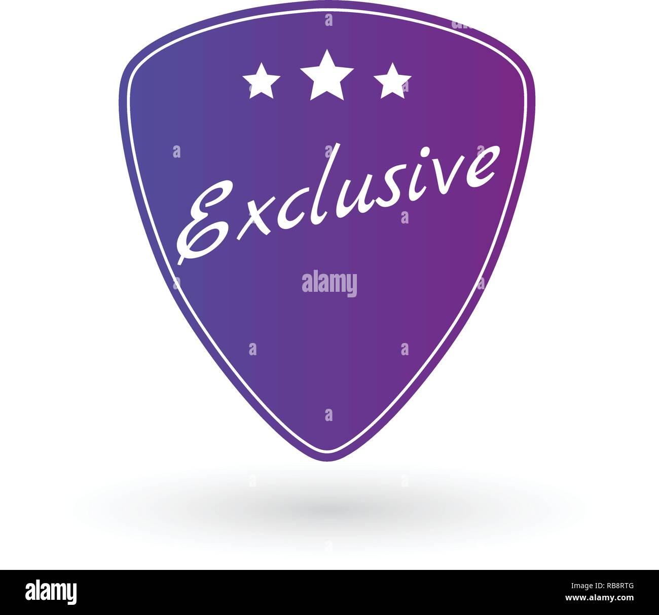 Identity Badge Label Emblem Logo Or Badge Template Exclusive