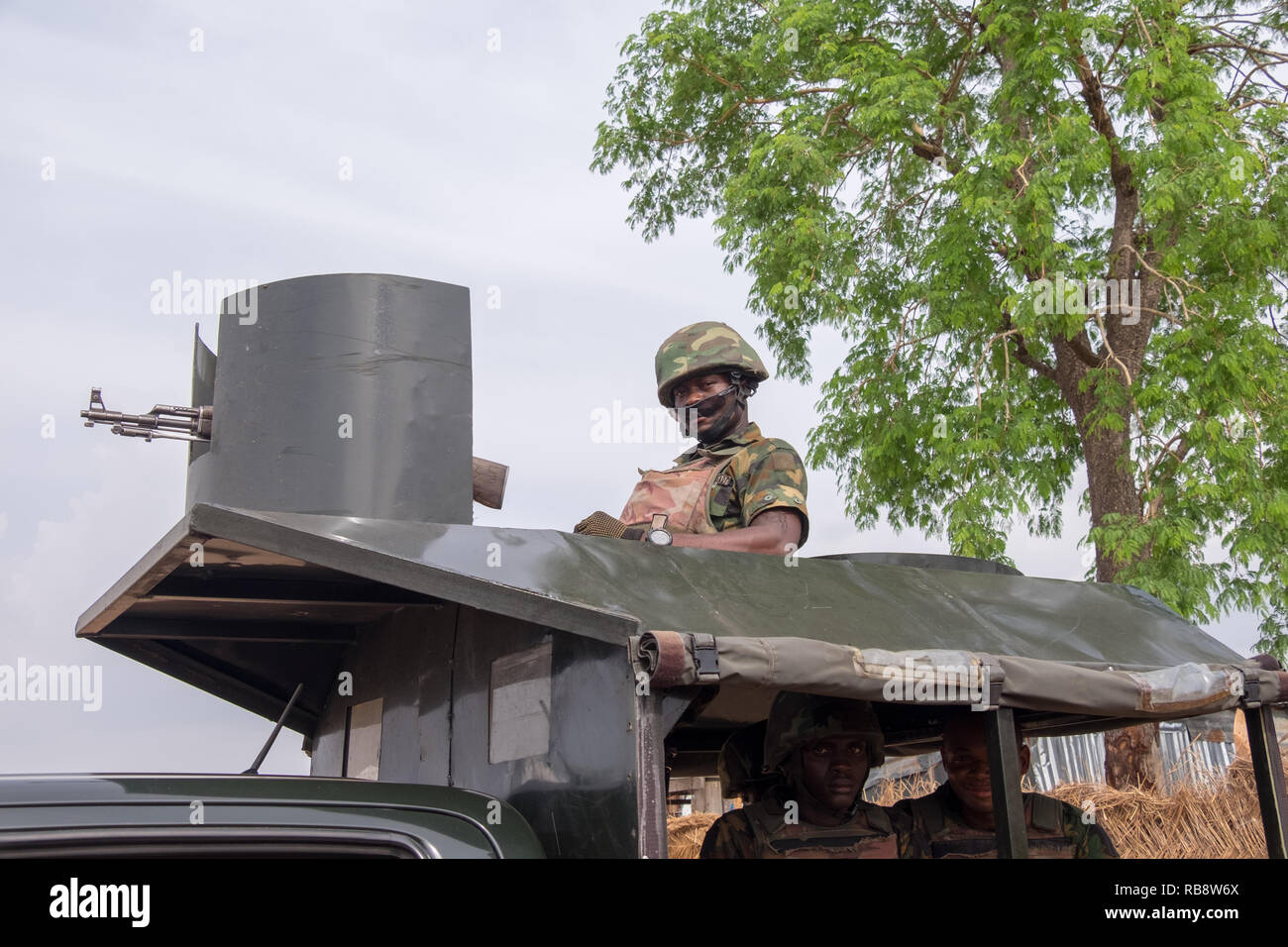 Nigeria Military Stock Photos & Nigeria Military Stock Images - Alamy