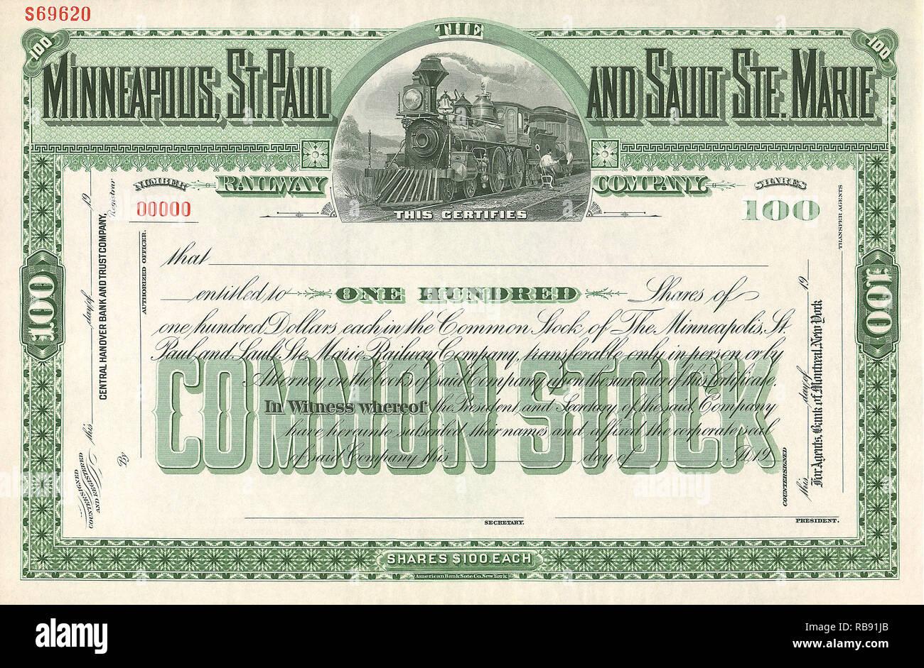 Railroad Stock - Stock Image