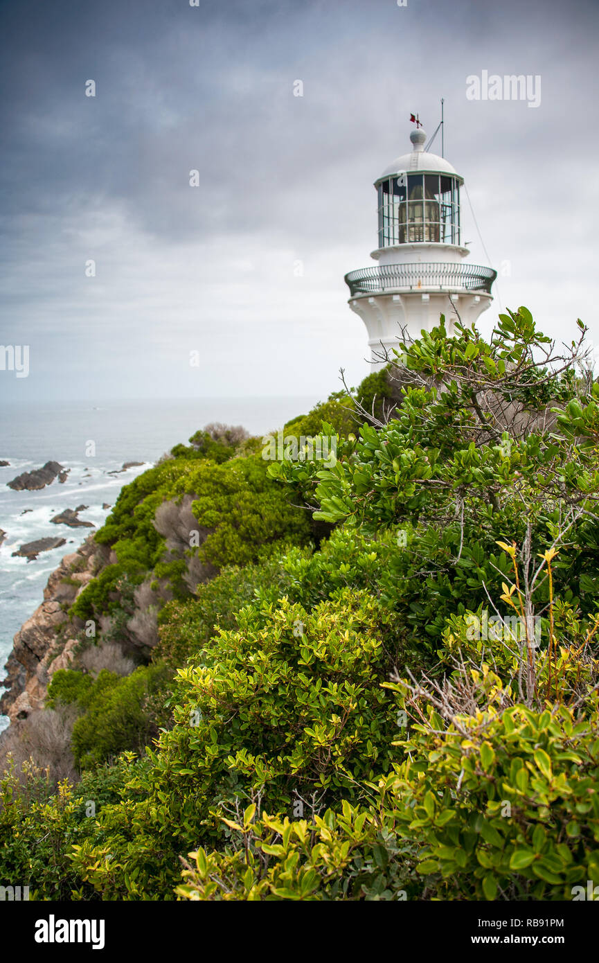 Sugarloaf Point lighthouse at Seal Rocks, Myall Lakes National Park, NSW, Australia Stock Photo