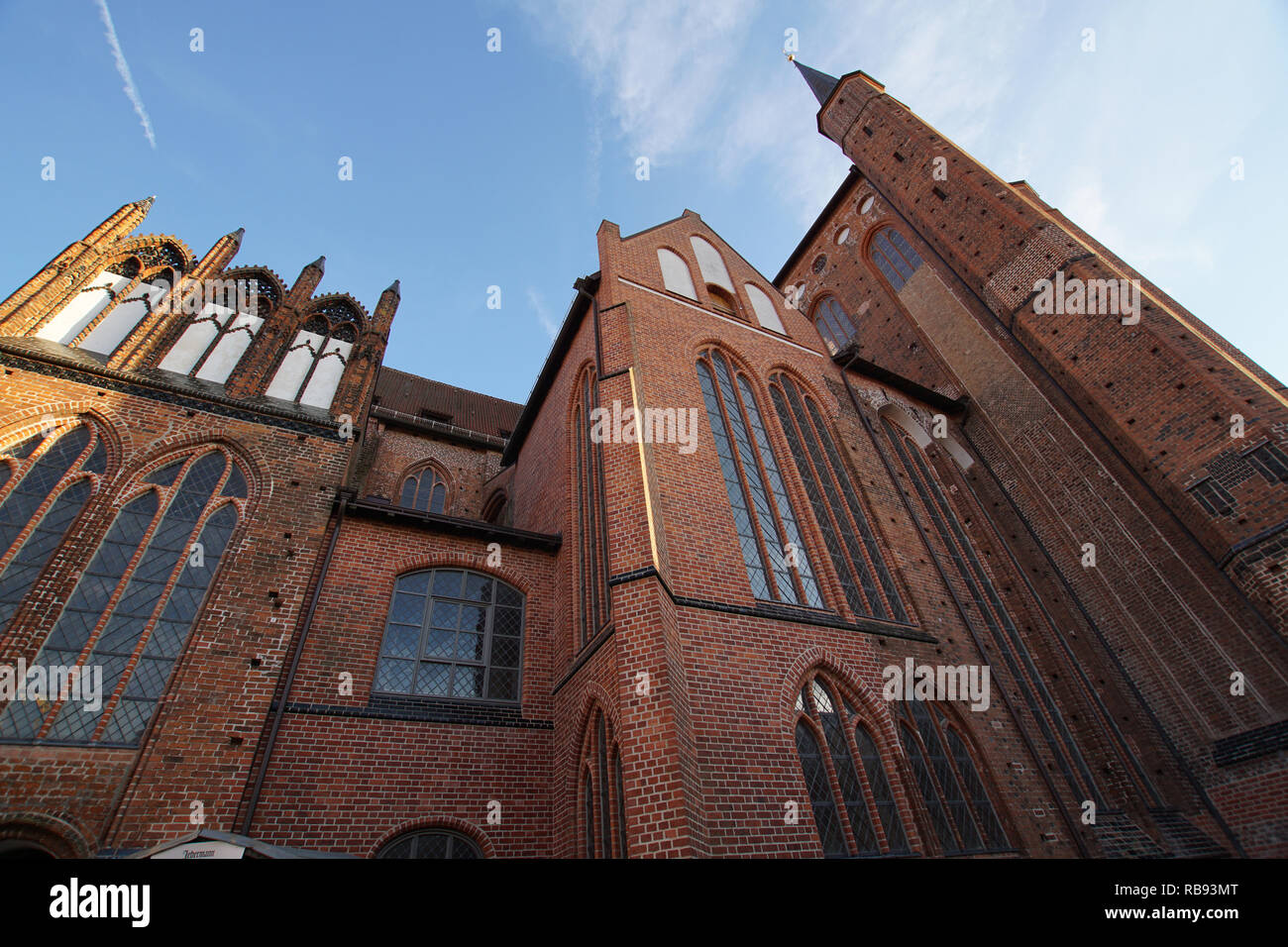 St. Georgen church in Wismar - Stock Image