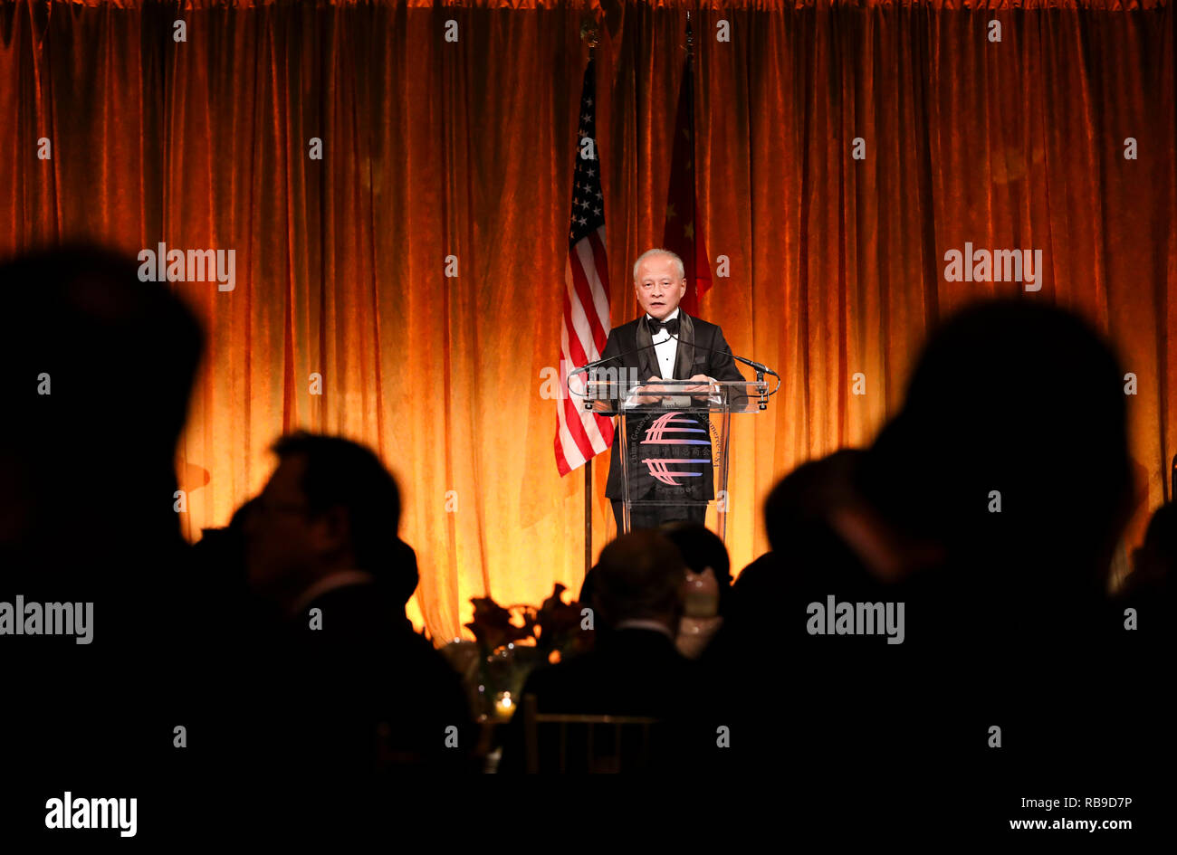 New York, USA  7th Jan, 2019  Chinese Ambassador to the