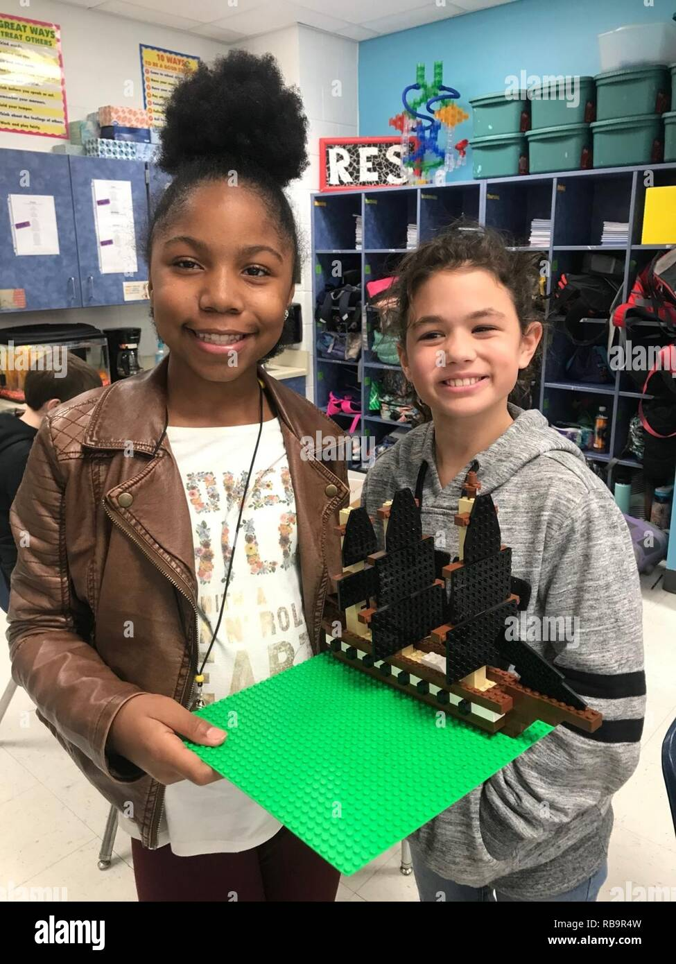 5th Grade Students from Riverdale Elementary in Franklin, Virginia