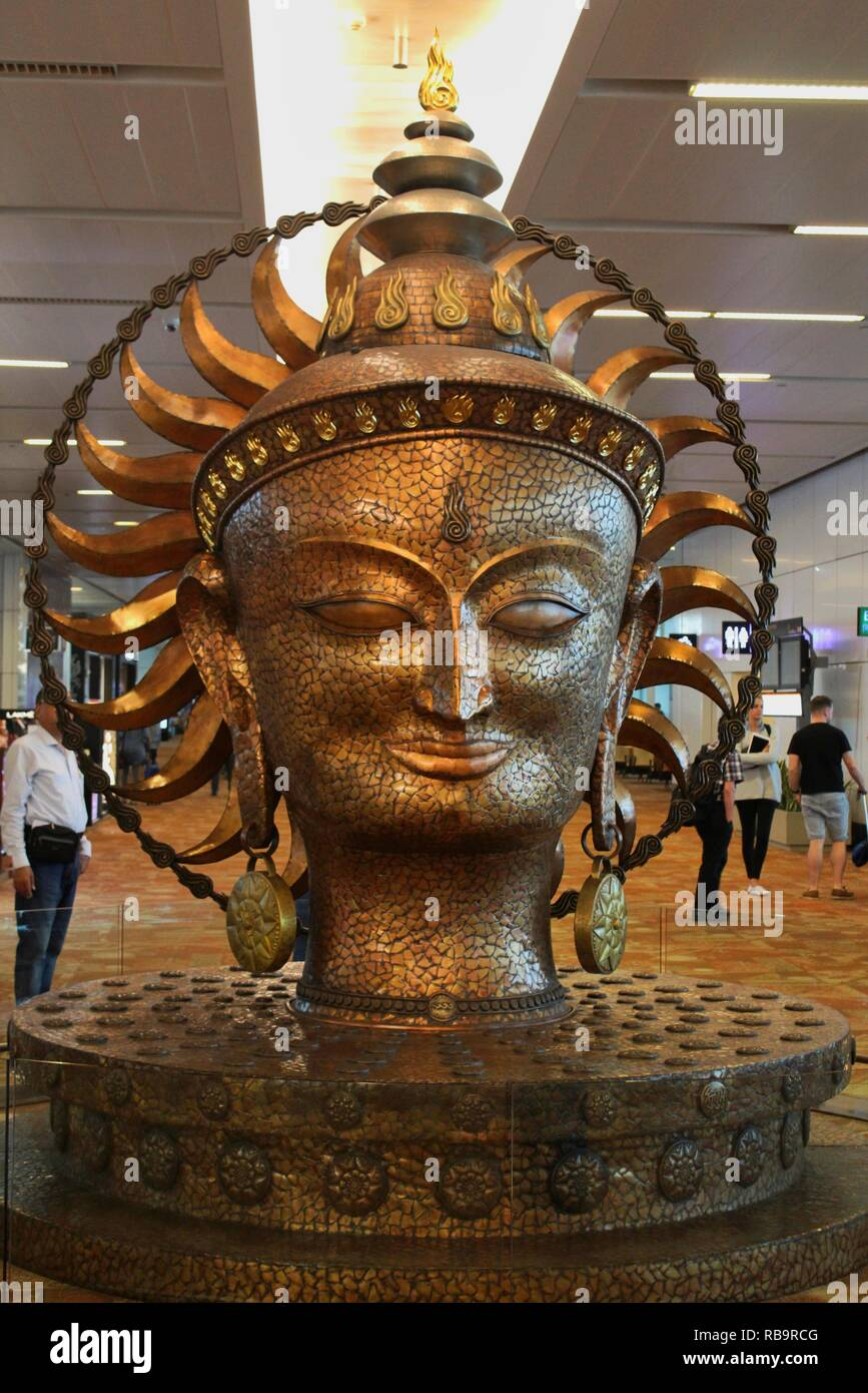 Surya, the resplendent one, Delhi - Stock Image