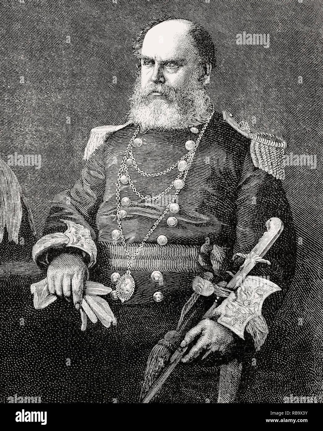 Sir James Falshaw, 1810 – 1889, Lord Provost of Edinburgh - Stock Image