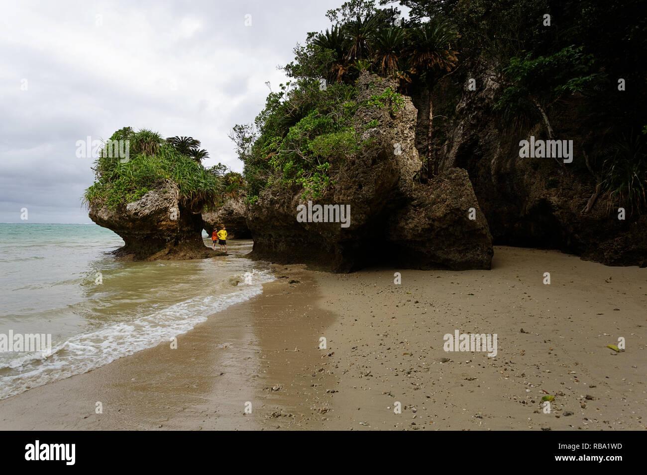 Ibaruma Sabichi Cave, Ishigaki, JApan Stock Photo
