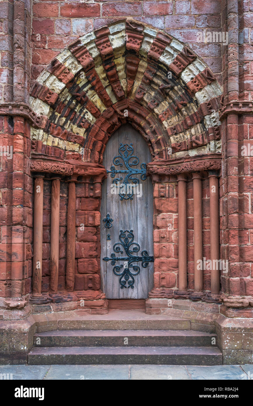 The St. Magnus Cathedral in Kirkwall, Orkney Isles, Scotland, United Kingdom, Europe. - Stock Image