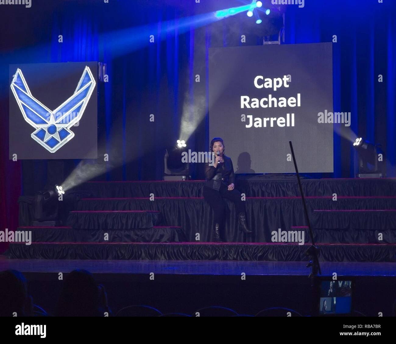 Capt  Rachael Jarrell of the 7th Logistics Readiness