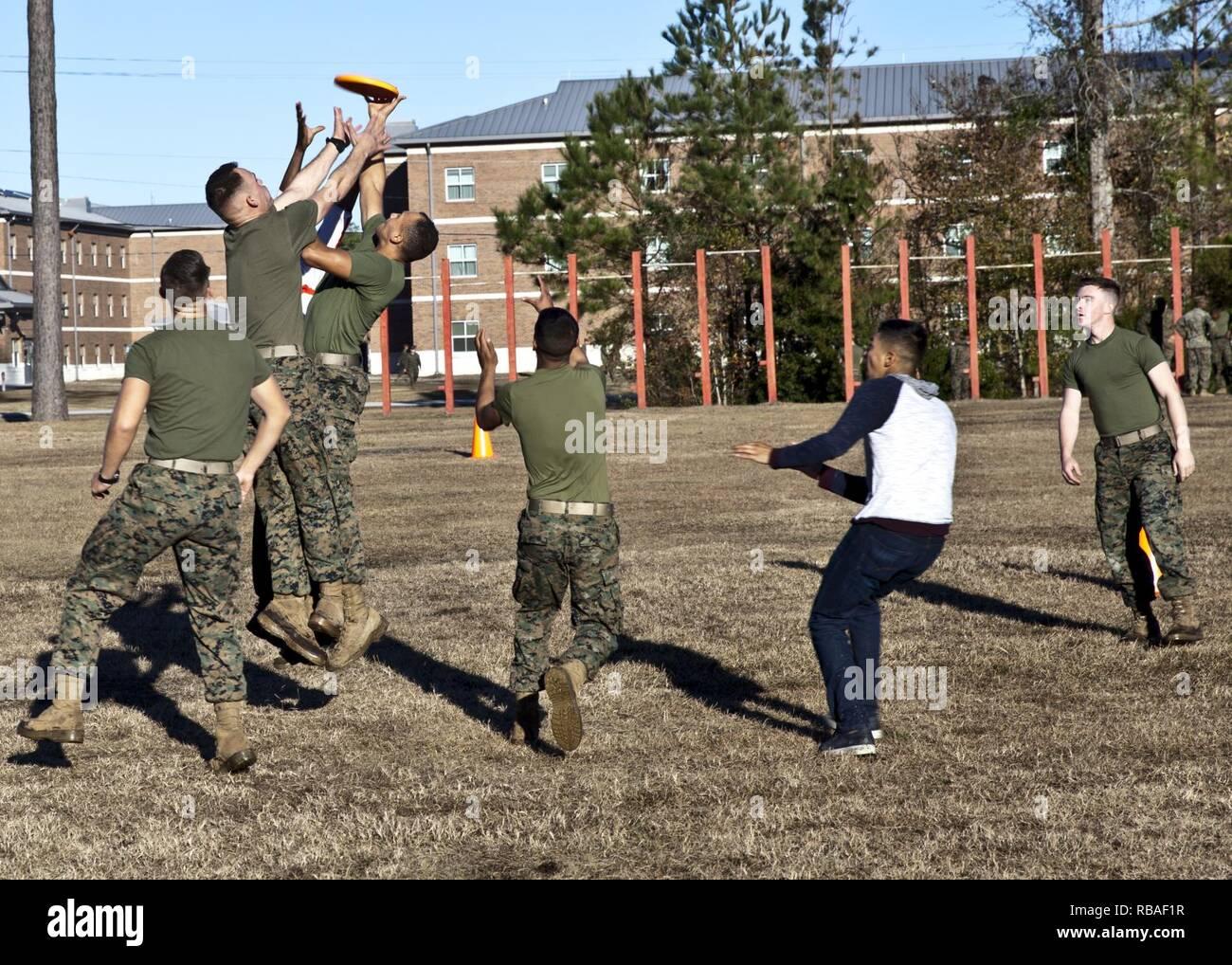 U S  Marines attending Marine Corps Combat Service Support