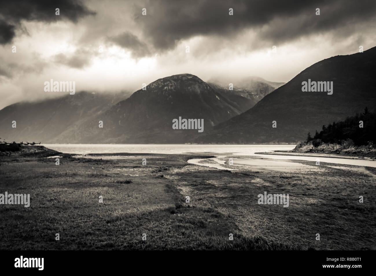 Taiya Inlet - Stock Image