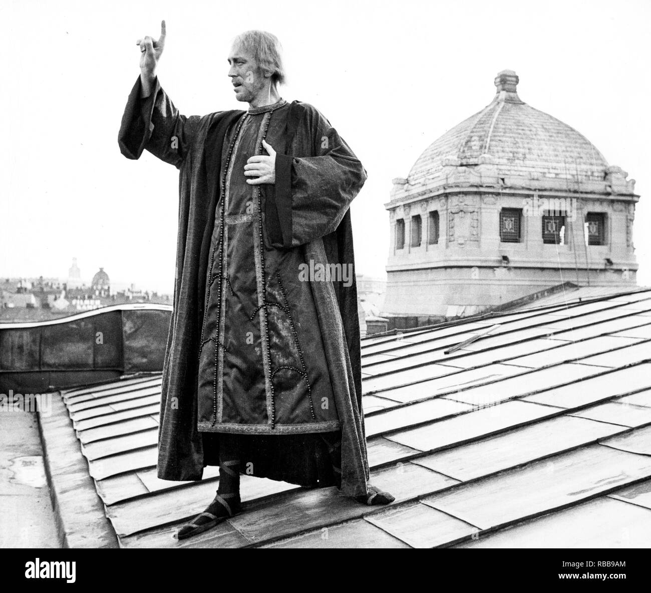 max von sydow, Henry IV, 1968 - Stock Image