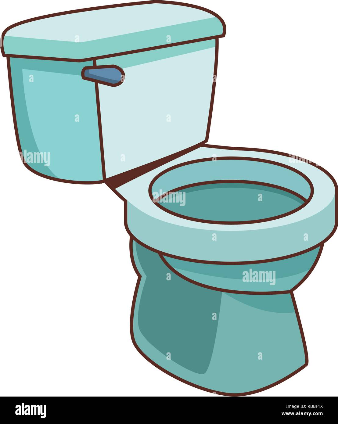 Cartoon Toilet High Resolution Stock Photography And Images Alamy