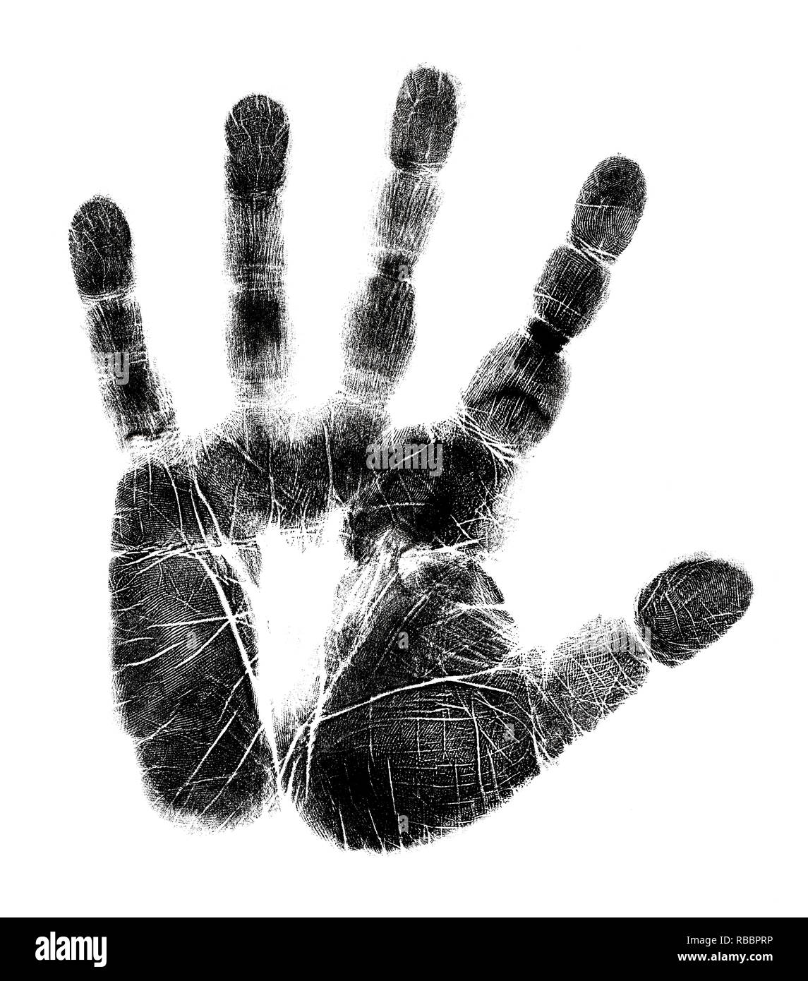 Hand Print Stock Photos Hand Print Stock Images Alamy