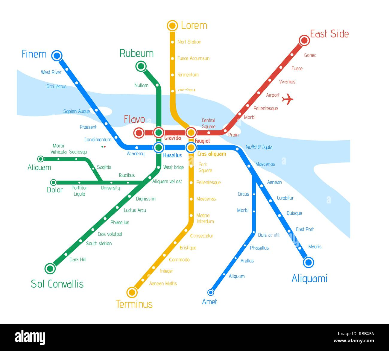 Seville Subway Map.Tube Map Stock Photos Tube Map Stock Images Page 3 Alamy