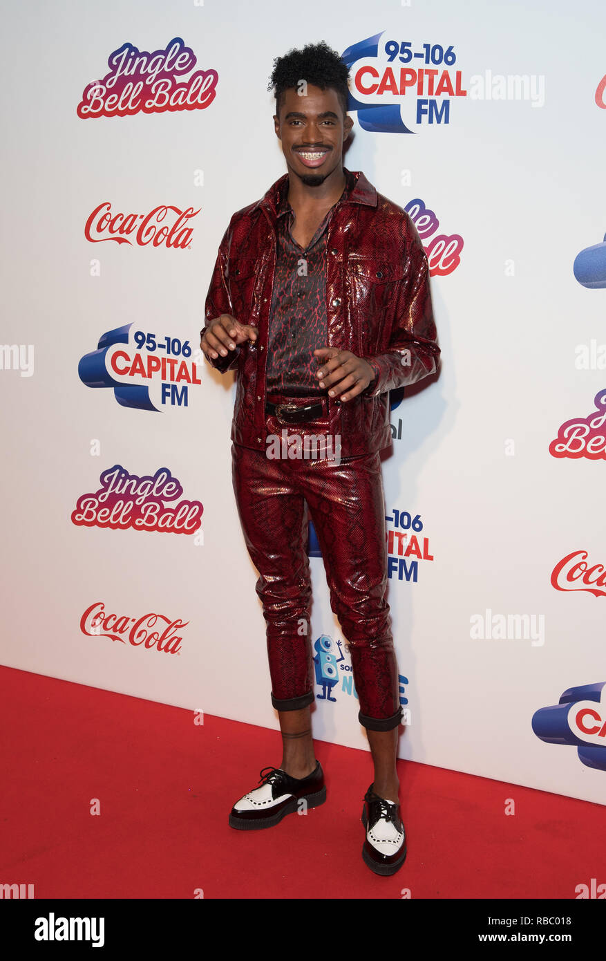 Guests at Capital's Jingle Bell Ball with Coca-Cola at London's O2