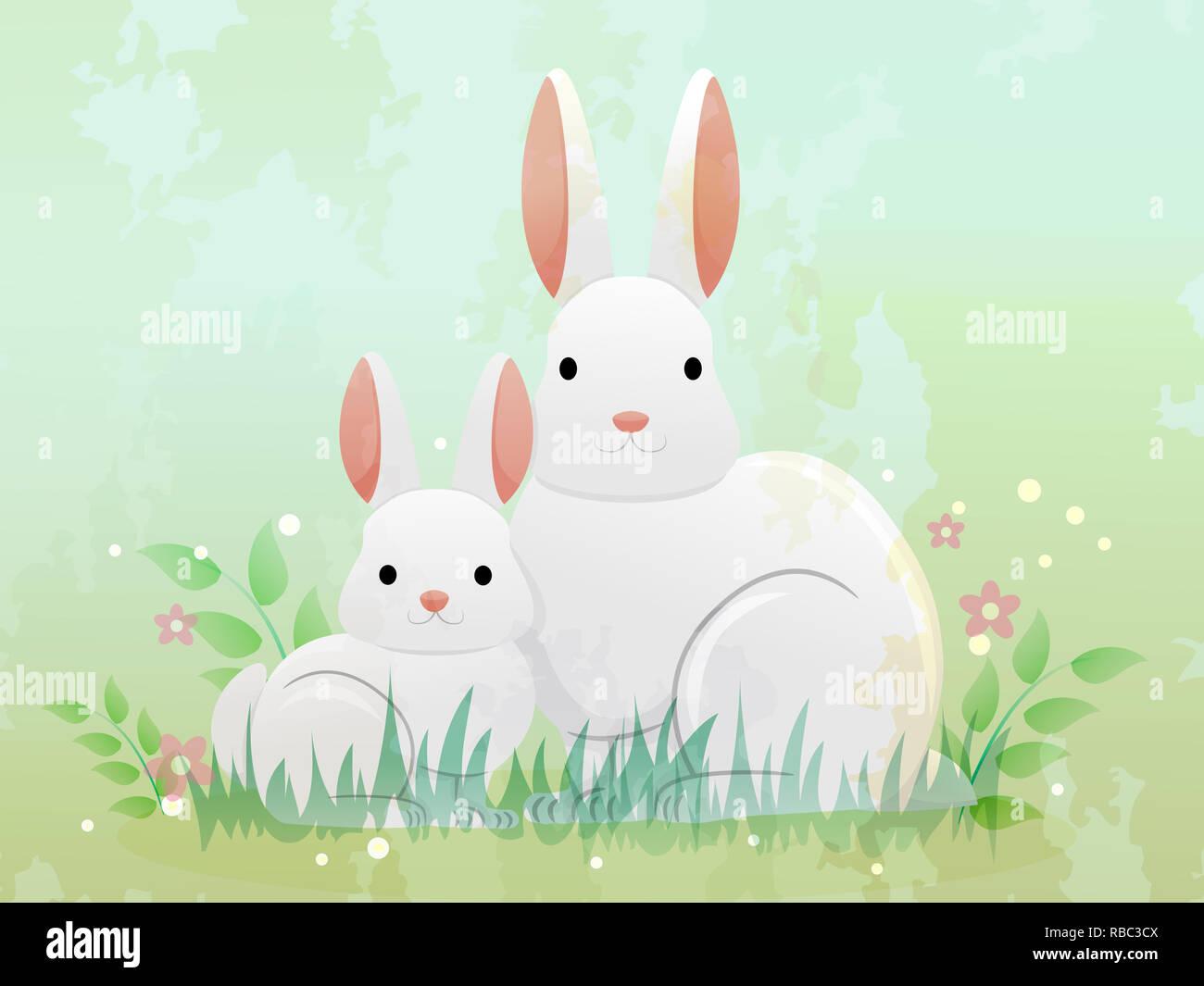 Rabbit Clipart Free Rabbit Clip Art Images Clipart - White Rabbit - Png  Download - Full Size Clipart (#31208) - PinClipart