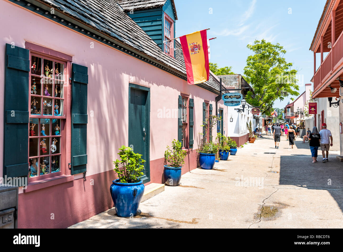 1d8ccd928 St George Street St Augustine Florida Stock Photos   St George ...