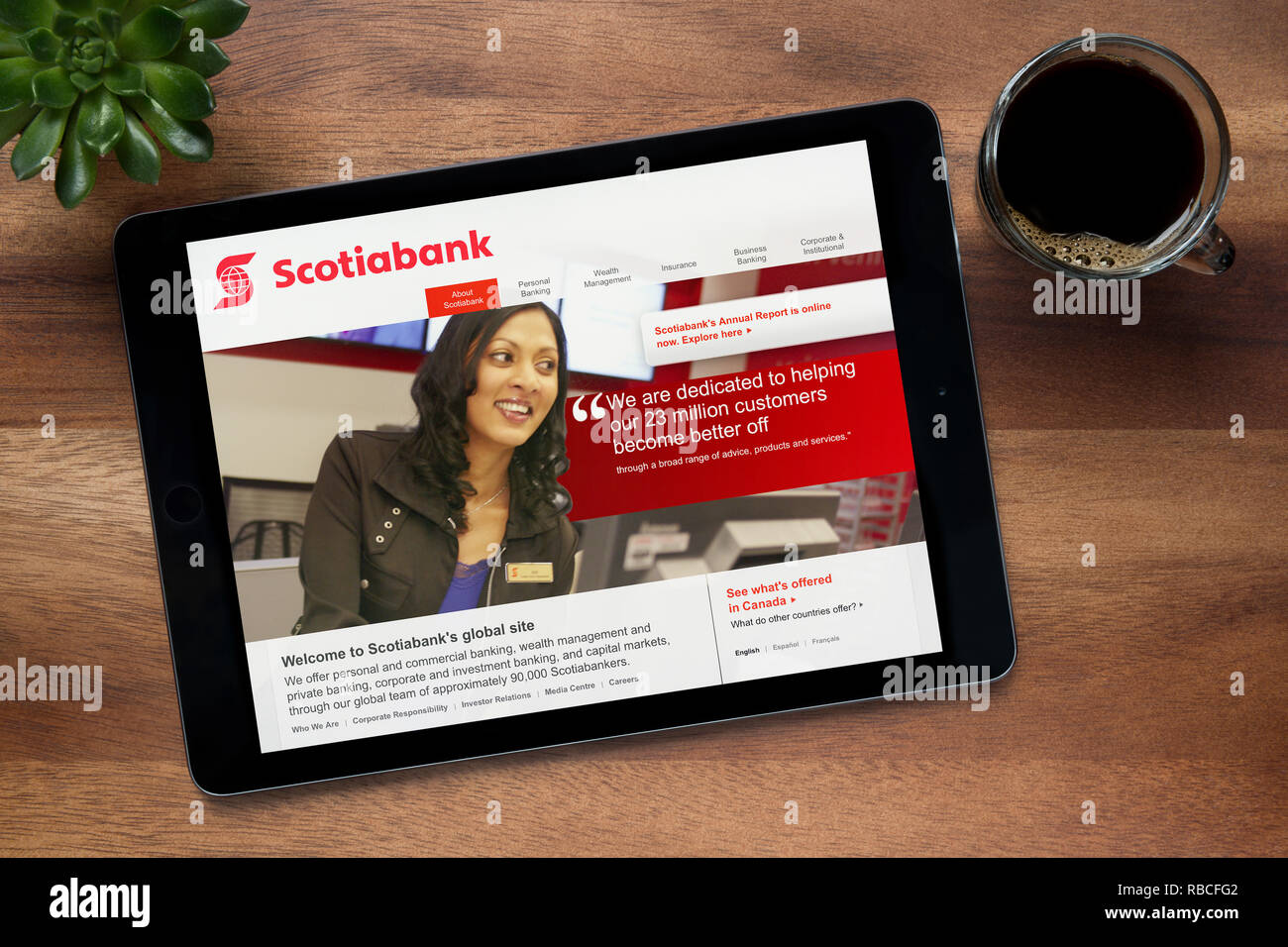 Scotiabank App Stock Photos & Scotiabank App Stock Images