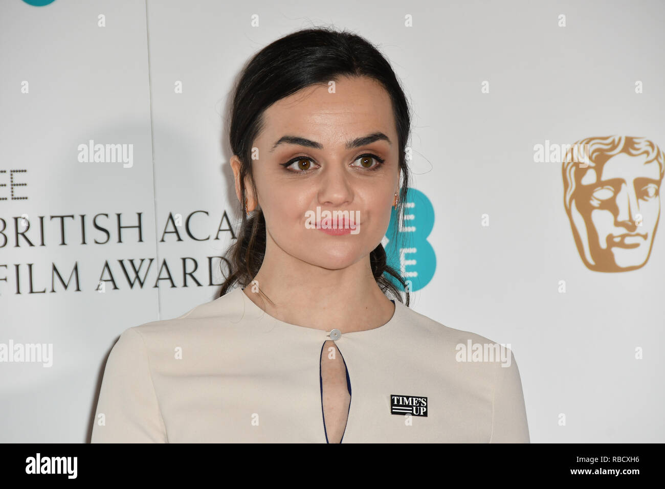 London, UK. 9th January, 2019. Hayley Squires attends the EE BAFTA Film Awards Nominations Announcement on 9 january 2019, london, UK. Credit: Picture Capital/Alamy Live News - Stock Image