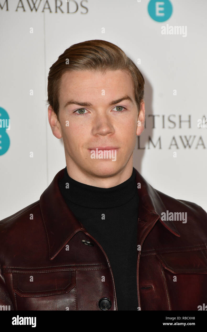 London, UK. 9th January, 2019. Will Poulter attends the EE BAFTA Film Awards Nominations Announcement on 9 january 2019, london, UK. Credit: Picture Capital/Alamy Live News - Stock Image