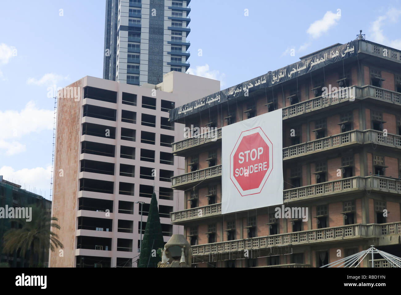 Beirut, Lebanon  9th Jan, 2019  Saint George Hotel a