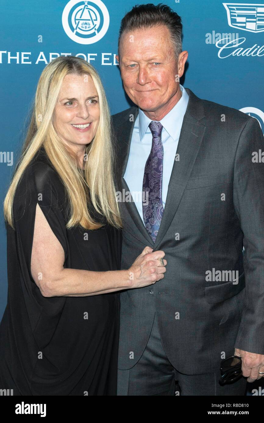 Barbara Patrick and Robert Patrick attend The Art of Elysium's 12th Annual Celebration - Heaven in Los Angeles, California, USA, on 05 January 2019. | usage worldwide - Stock Image