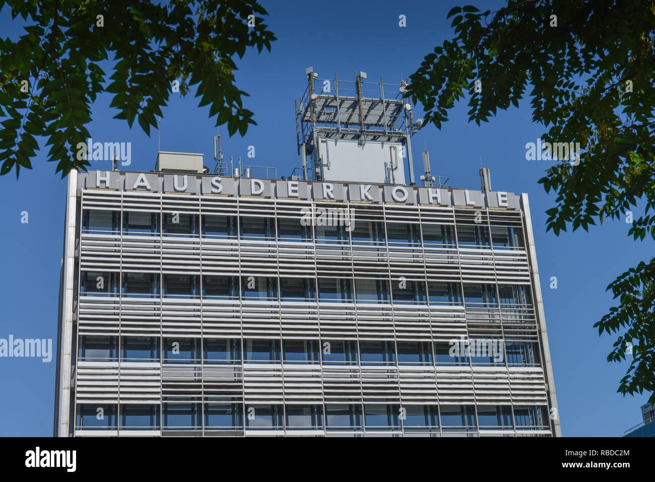 House of the coal, Buchkremerstrasse, Aachen, North Rhine-Westphalia, Germany, Haus der Kohle, Nordrhein-Westfalen, Deutschland Stock Photo