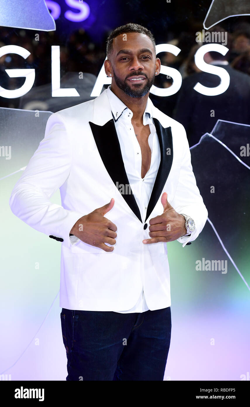 Richard Blackwood Attending The Glass European Premiere Held At The Curzon Mayfair London