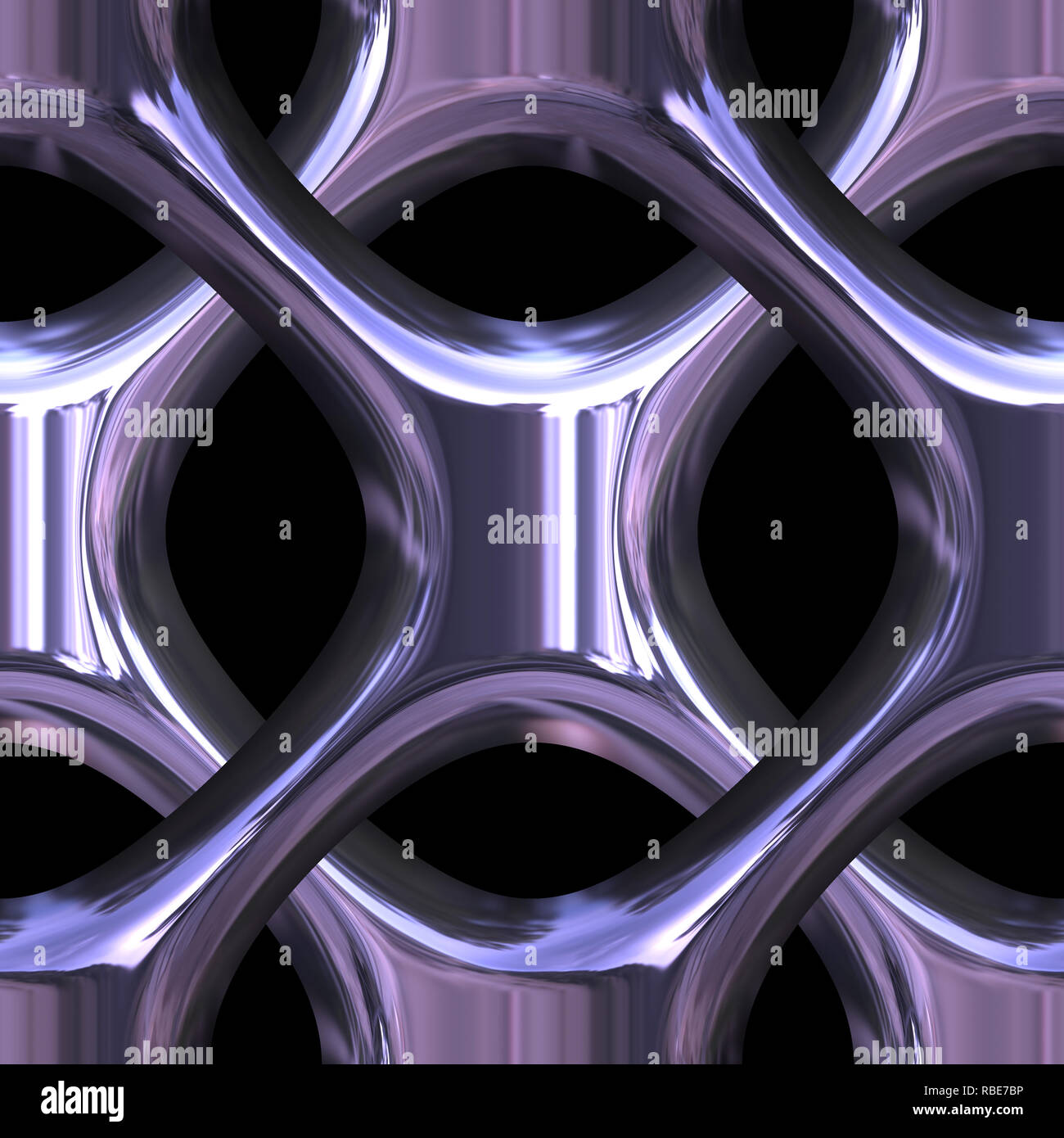3d Effect Seamless Background Wallpaper Metal Tiled Pattern