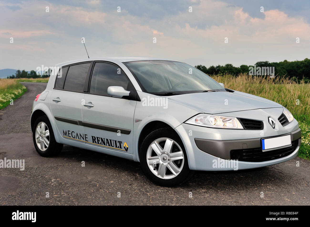 Renault Megane Car High Resolution Stock Photography And Images Alamy