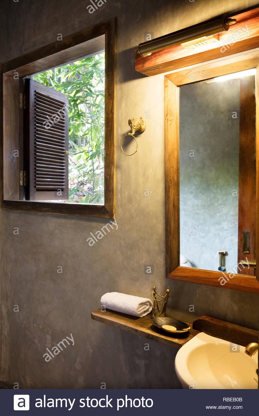 Bathroom detail  Jalakara Villa Hotel, Andaman and Nicoar Islands