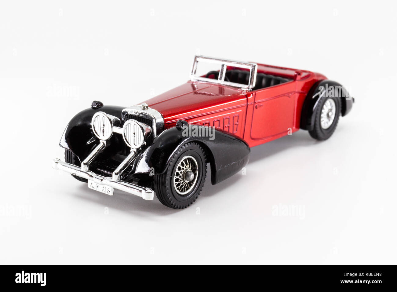 Matchbox Models of Yesteryear Y-17 Hispano Suiza 1938 Stock Photo