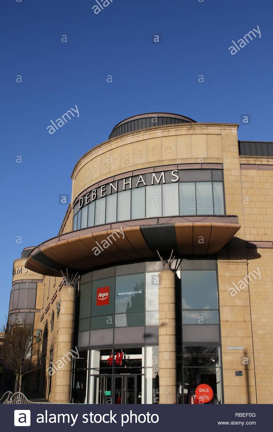 Overgate Shopping Centre Dundee Scotland  January 2019 - Stock Image