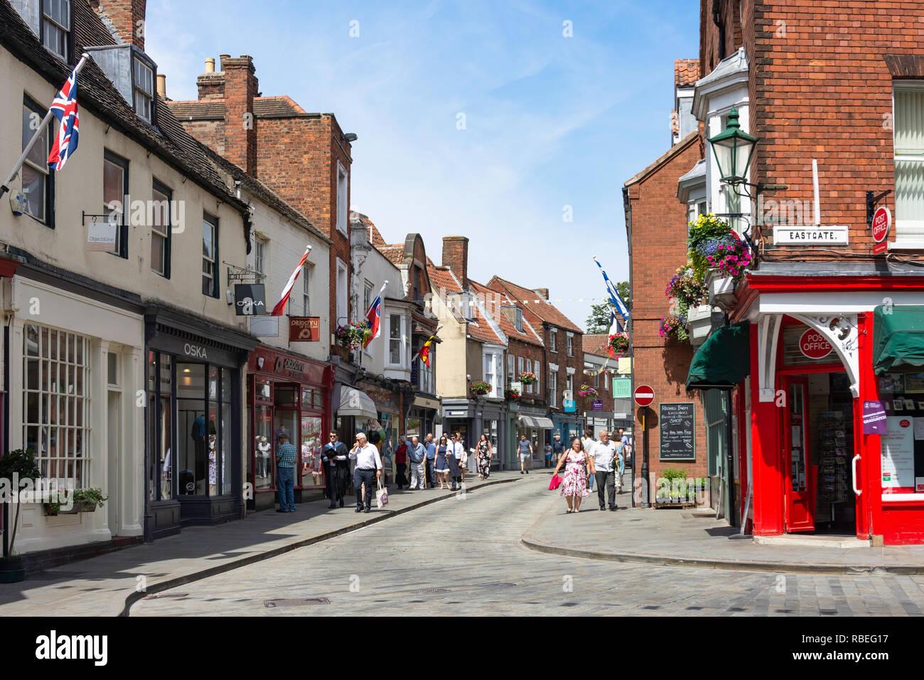Bailgate, Lincoln, Lincolnshire, England, United Kingdom - Stock Image