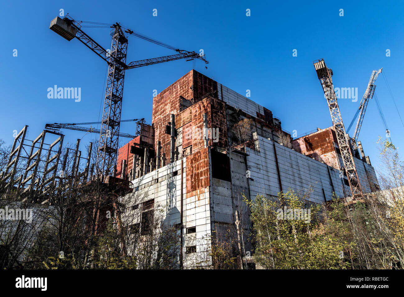 Pictures from Chernobyl, Ukraine Stock Photo