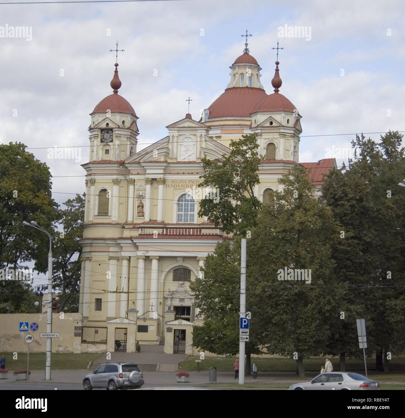 church of st. Peter and St. Paul, Vilnius, Lithuania - Stock Image