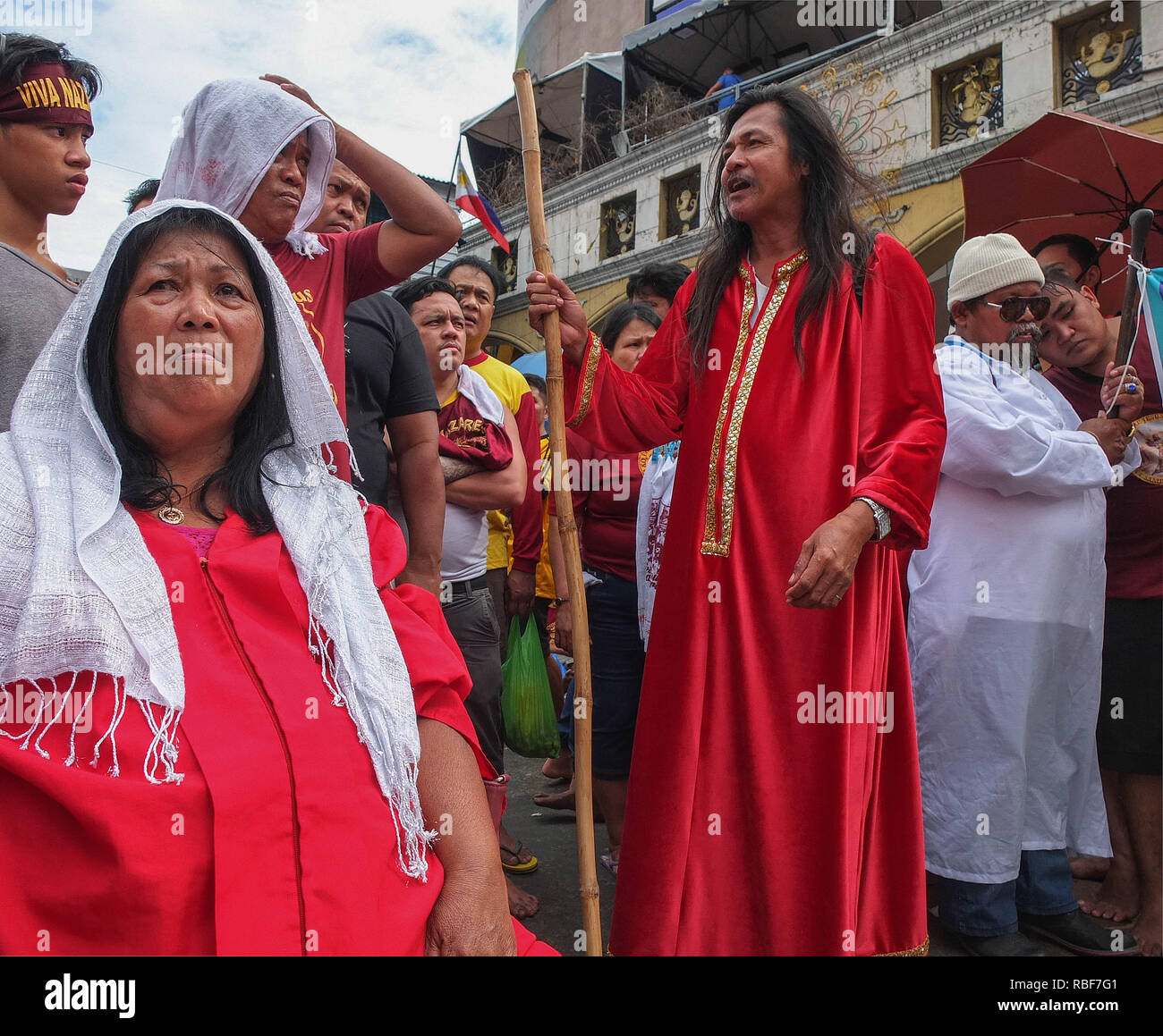 Manila, Philippines  9th Jan, 2019  Many religious sects