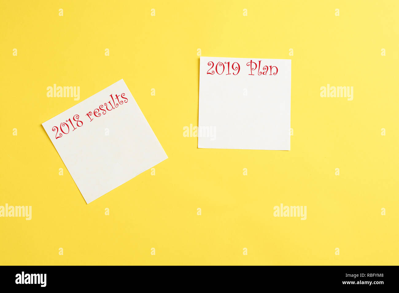 Make a goals list for 2019  Concept meaning asking about