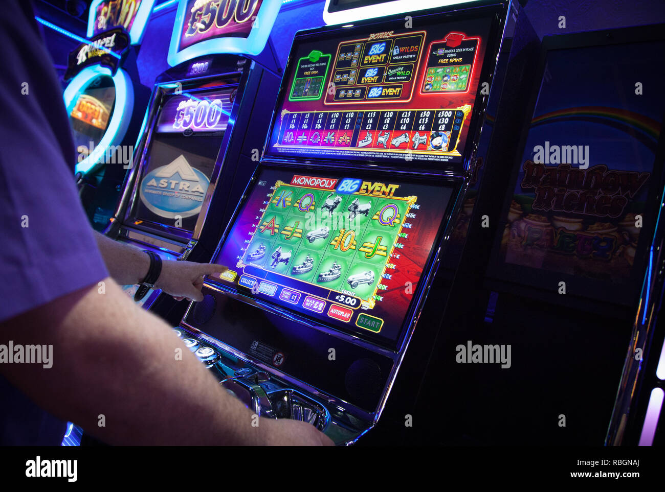 Fixed odds betting machines in motion html web development trifecta betting