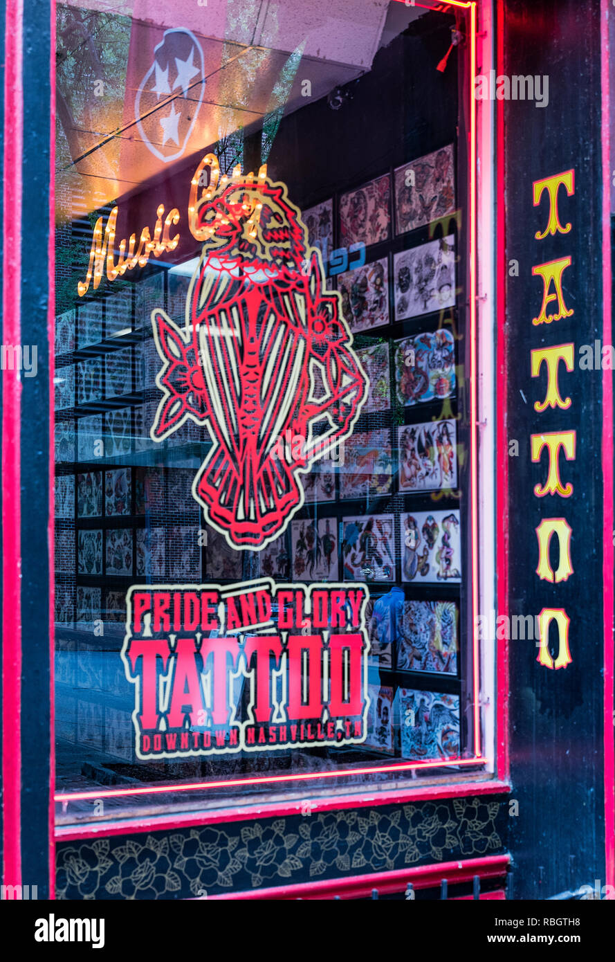 Tattoo Store Stock Photos & Tattoo Store Stock Images - Alamy